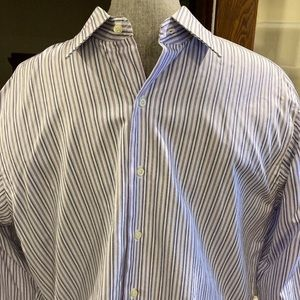Brooks Brothers l Black Blue Purple Strips